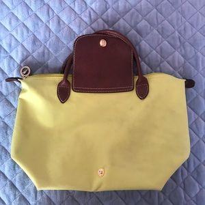 Longchamp yellow small bag